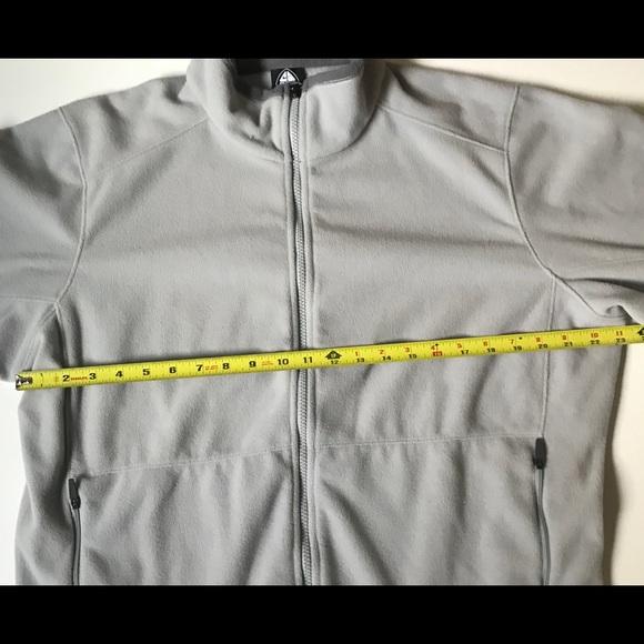 0d8f78e8fb365 Vintage Men's Nike ACG Therma Fit Fleece Full Zip